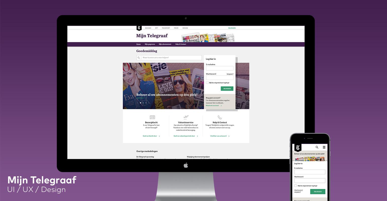 Mijn Telegraaf website